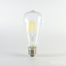 LED Birne Filament E27 4W dimmbar Warmweiss 350lm 330°